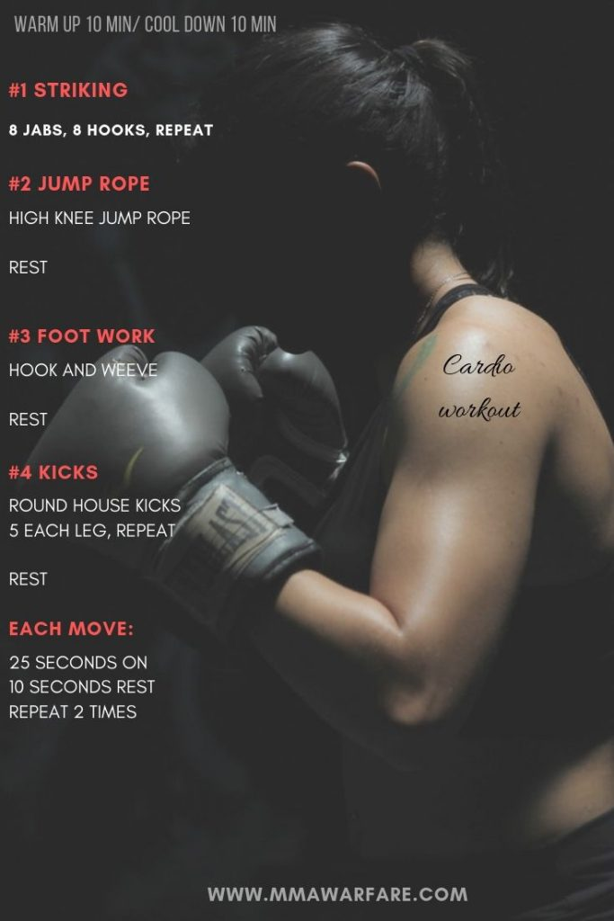 at home kickboxing workout routine
